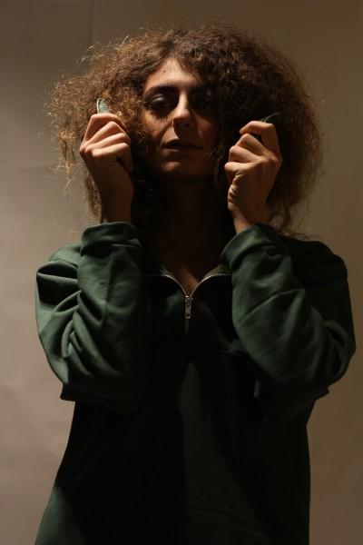 THE ZIPPER |GREEN sweatshirt