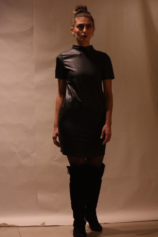 ROB LEATHER dress