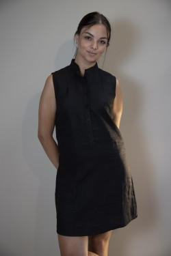LINEN ARIADNE dress